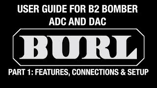 b2 bomber video manual part 1 features connections and setup
