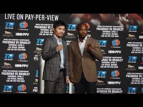 Manny Pacquiao vs. Tim Bradley NYC press conference