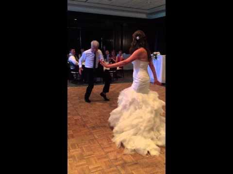 Father Daughter Wedding Dance Epic! -Ellen Show Worthy!