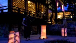 西蓮寺の明かり展 バイオリン演奏 磯部舞子さん