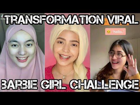 tiktok-transfomation-barbie-girl-challenge||-kompilasi-transisi-terbaik-2k20