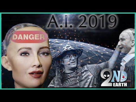 The Dangers of Artificial Intelligence! Ben Goertzel & ROBOT Sophia make A.I. advances in 2019 Mp3