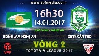 Song Lam Nghe An vs Can Tho full match