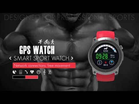 GPS Sports Smart Watch S958 MTK2503 Heart Rate Monitor Smartwatch Multi-Sport Model