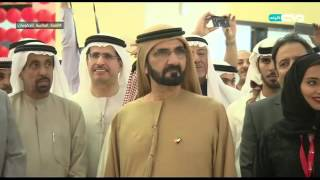أخبار الإمارات - محمد بن راشد يطلق إشارة إفتتاح التوسعة الثانية لسوق التنين في دبي