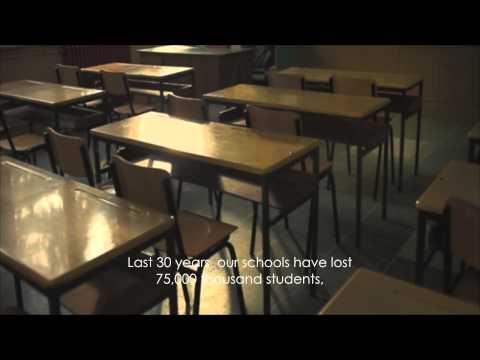 Empty Schools - Macedonia / Pro Family TV ad