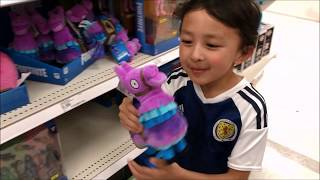 Target Toys Shopping : Fortnite, Baldi's Basics, and Roblox Toys
