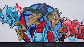 Pank Mobar - Blue/Red (by Graff.Funk X Montana Cans™)