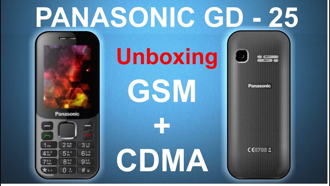 Favoriete Panasonic GD-25 CDMA+GSM Rs. 1940/- - YouTube CE-29