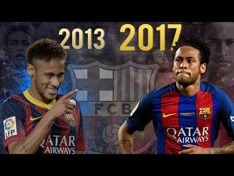 NEYMAR JR 2013-2017 Evolution ● FC Barcelona