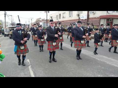 St. Columcille Gaelic United Pipe Bands @ 2018 Union NJ Saint Patrick's Parade