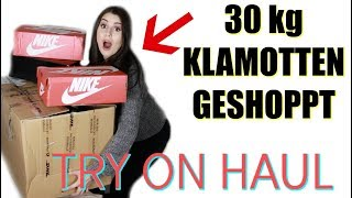 30kg KLAMOTTEN bestellt 💸 .. UFF 😳 Try On Haul deutsch Juni 2019 + Beste Mom Jeans!  👖