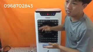 Mở hộp quạt điều hòa Rapido D6000 - Điện Máy Ninh Thành