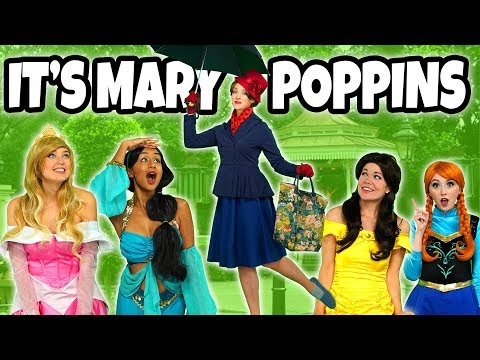 DISNEY PRINCESSES SAVED BY MARY POPPINS Mary Poppins Returns Movie  Totally TV