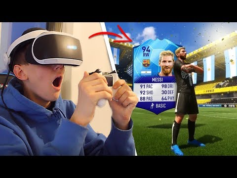 VIRTUAL REALITY IN FIFA 18! - WATCH how it works!