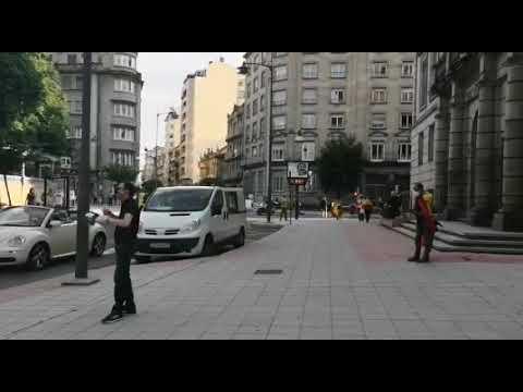 Algunos vecinos se suman en Ourense a las caceloradas contra el Gobierno