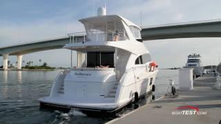 Hatteras 60 Motor Yacht Test 2016
