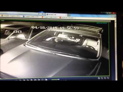 Thief Caught on Camera in Whittier California.  Have you seen This THIEF