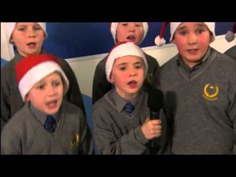 Scoil Iosagain & GMC   The Santa Anthem   Live on RTE Today show
