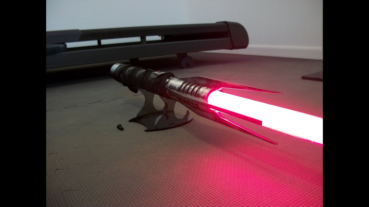 sithstalker lightsaber from the force unleashed youtube