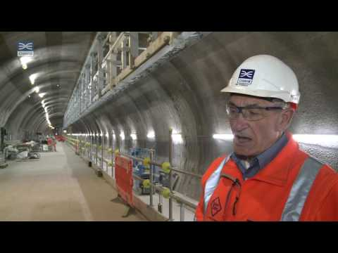 Crossrail shorts: View from platform level at Whitechapel station