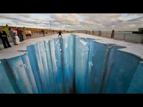 MAKING OF BIGGEST STREET PAINTING |STREET PAINTING |3D PAINTINGS |3D ART|3D STREET ART|TOP 10|