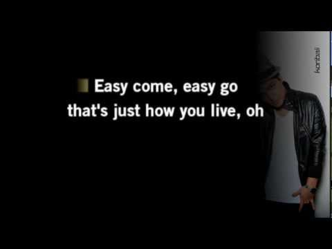 Bruno Mars - Grenade (slow acoustic karaoke)