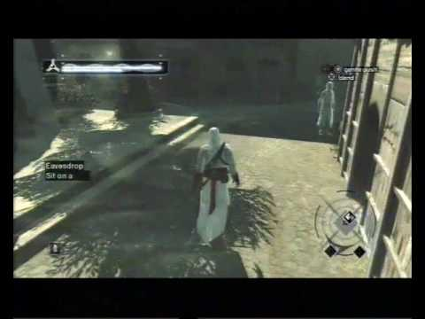 Assassin's Creed, Career 199, Jerusalem: Poor District, Eavesdrop