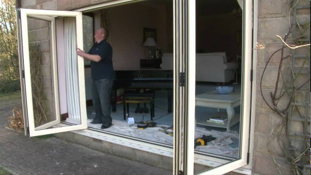 Aspect Bi-fold Door System Installation Guide | Eurocell PVCU - YouTube