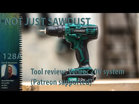 Tool review; Vonroc 20V system ( Patreon supported)