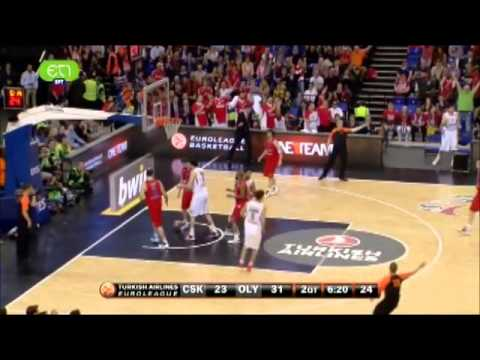 olympiakos vs cska 69-52 2013 euroleague semifinal