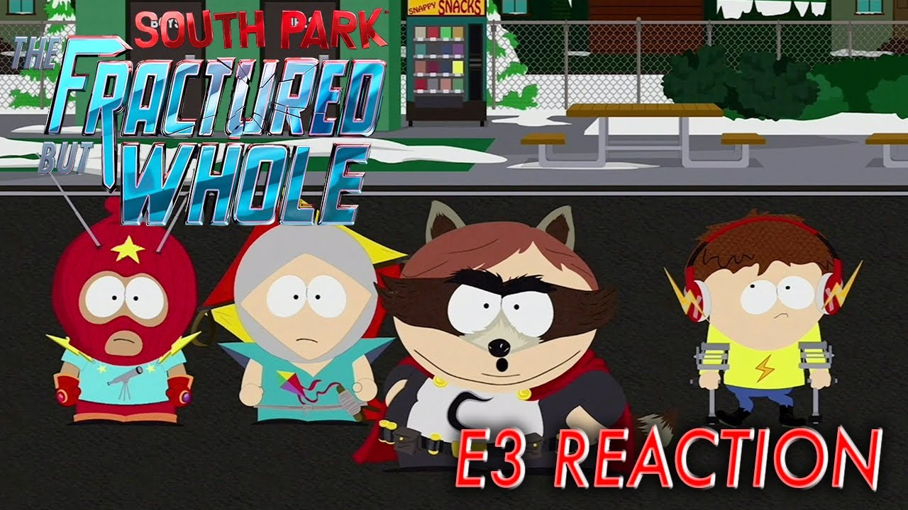 E3 2017 - South Park: The Fractured But Whole Interview