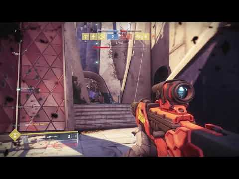 Destiny 2 Competitive. Double Sniper Headshot In The Air.