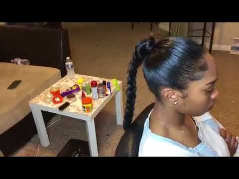 How to do a  Long Ponytail Hairstyle