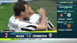 Μίλαν - Γιουβέντους 1-2