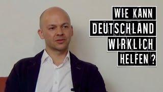 Wie kann Deutschland wirklich helfen? - Rico Albrecht & Anna Maria August.