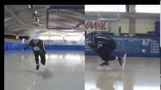 Short track speed skating, 5 basic techniques - Уроки шорт-трека (1). 5 основных техник шорт-трека(Освоение этих фундаментальных техник поможет улучшить свою технику скольжения. These basic techniques short track speed..., 2014-01-04T18:37:52.000Z)