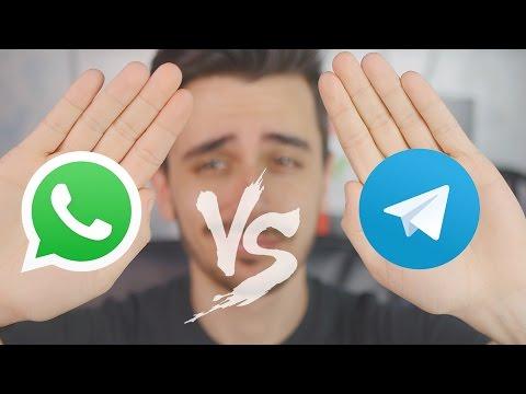 WhatsApp vs Telegram: facciamo un po' di CHIAREZZA! | ITA | TuttoAndroid