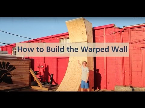 How to Build a Warped Wall in 3 minutes  YouTube