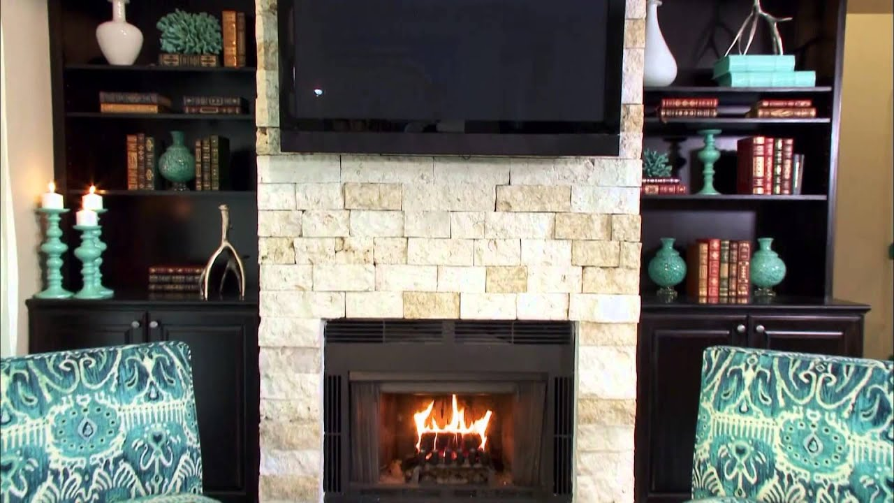 Add Drama with a Fireplace Color