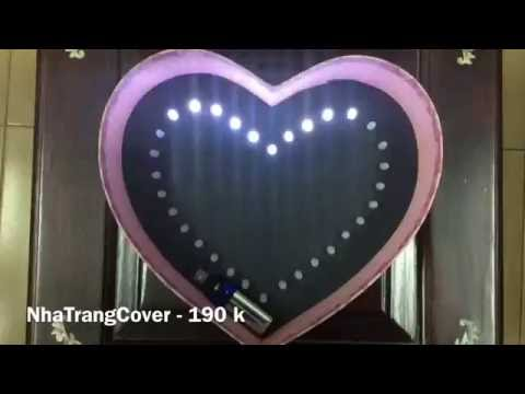 Hộp quà Led hình trái tim - Chưa trang trí ( NhaTrangCover.com ) 190 k