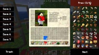 Minecraft: Self-building Bridge Walkthrough