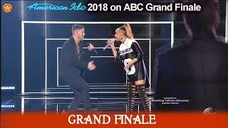 "Jurnee and Nick Jonas sing ""Jealous"" American Idol 2018  Grand Finale"