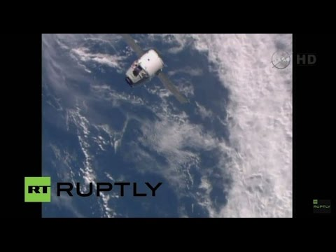 LIVE: SpaceX Dragon spacecraft berths with ISS
