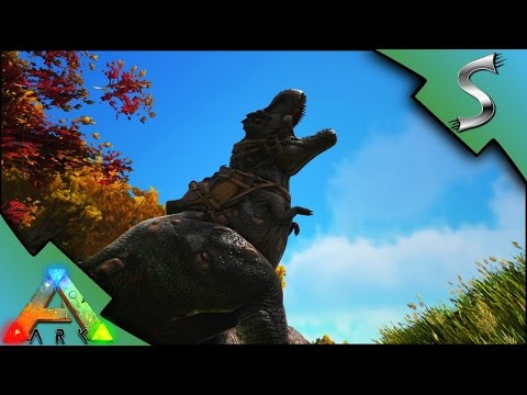 NEW REX TAMING! SHOCKING TRANQ DARTS! | Ark: Survival Evolved [S3E24]