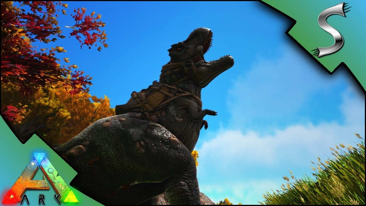NEW REX TAMING! SHOCKING TRANQ DARTS! | Ark: Survival Evolved [S3E24]