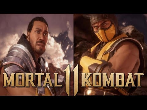 Mortal Kombat 11 - Story Mode Playthrough  - Chapter 10 - Scorpion (Commentary)