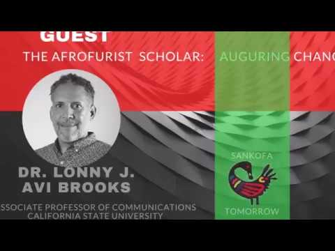 FUTURES FORUM LIVE - SIGNIFYING: FUTURE HISTORY of BLACK AMERICA with PROF.  LONNY BROOKS