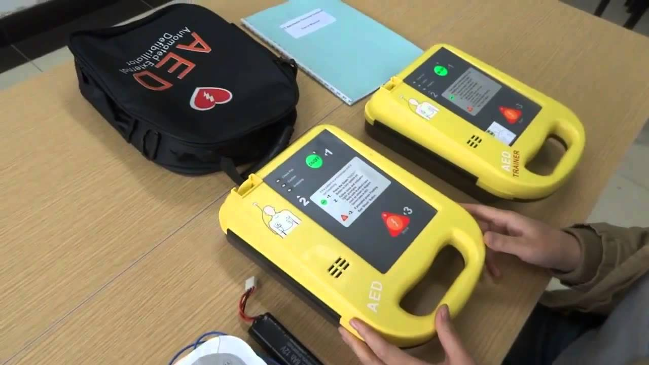 how to use aed device