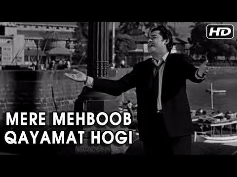 Mere Mehboob Qayamat Hogi | Mr. X In Bombay Video Songs | Kishore Kumar Hit Songs | Anand Bakshi
